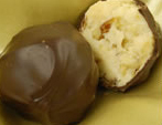Apricot and Amaretto Chocolate Truffle